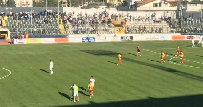 La Cavese fa 2-0 sull'Alto Tavoliere San Severo: giallogranata ultimi