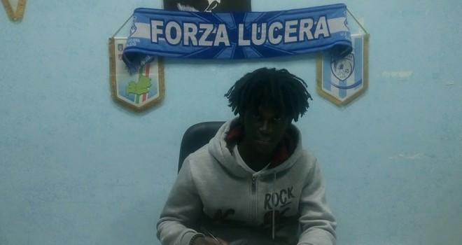 Sport Lucera, arriva il giovane gambiano Secka