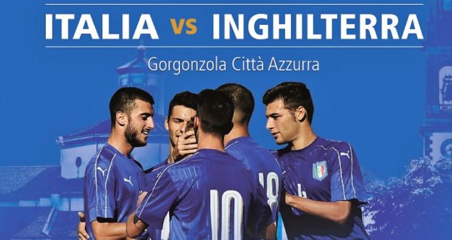 Italia-Inghilterra U20: Gorgonzola città Azzurra