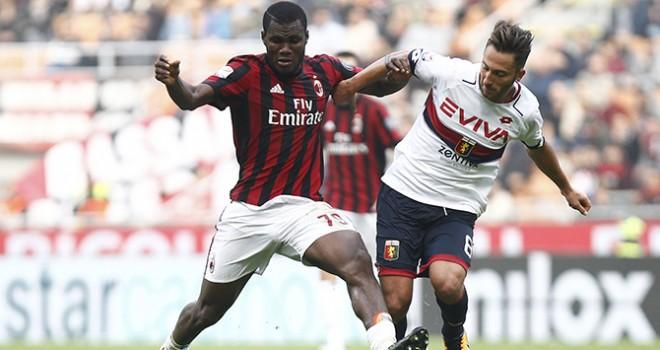 Milan-Genoa, i numeri della gara
