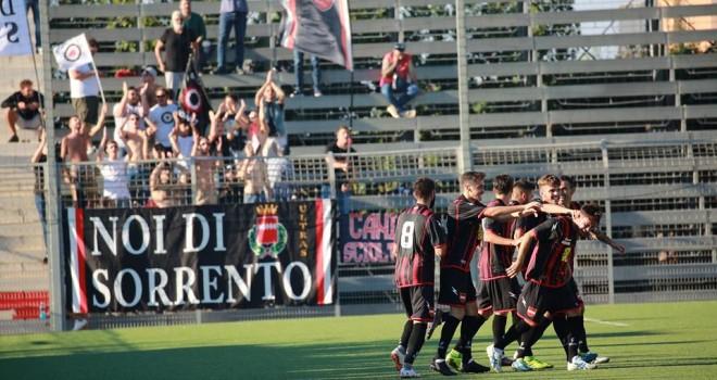 Sorrento-Castel San Giorgio 2-1, terza vittoria di fila all'Italia