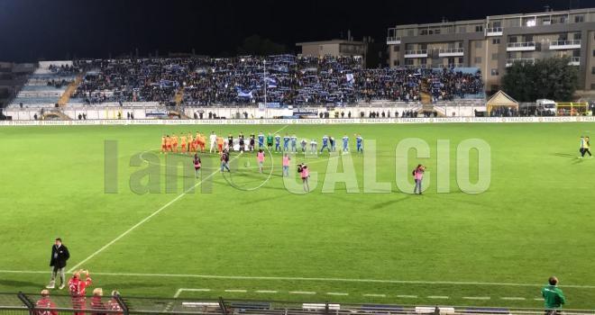 Matera-Lecce 0-1: nel grande equilibrio basta un guizzo di Mancosu