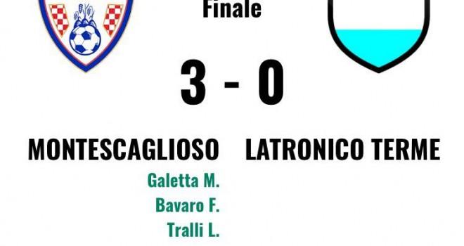 Gli highlights di Montescaglioso-Latronico 3-0