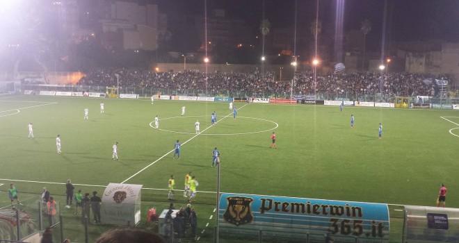 Siracusa-Catania 0-1, gli etnei si aggiudicano il derby