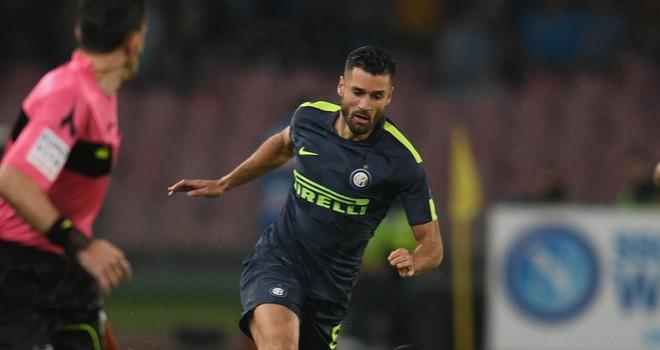 """Napoli-Inter, Candreva: """"Messo in difficoltà una grande squadra"""""""