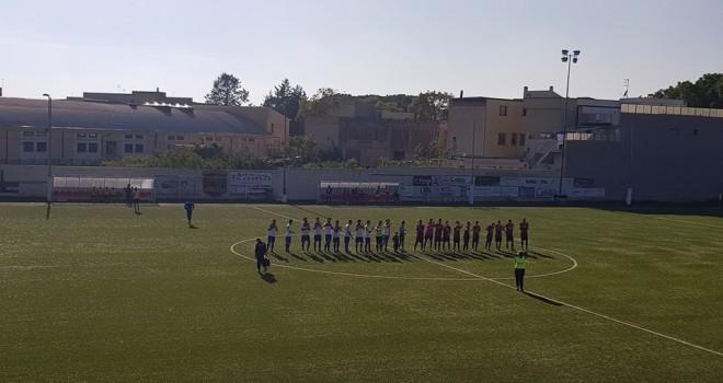 Apricena-Atl. Acquaviva 1-0, sconfitta con rammarico per i rossoblù