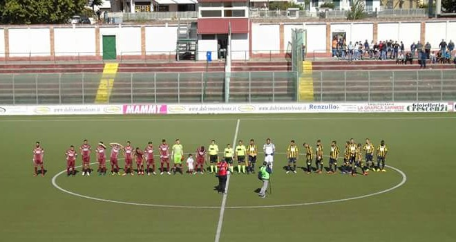 VIDEO - Sarnese-Gragnano 1-1, gol ed highlights della sfida