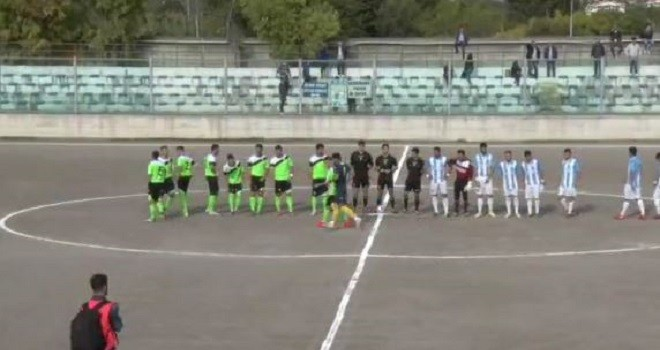 Faiano-Cervinara 2-2: gol e immagini della gara (VIDEO)
