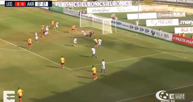 VIDEO - Gli highlights di Lecce-Akragas 0-0 a cura di Serie C Tv