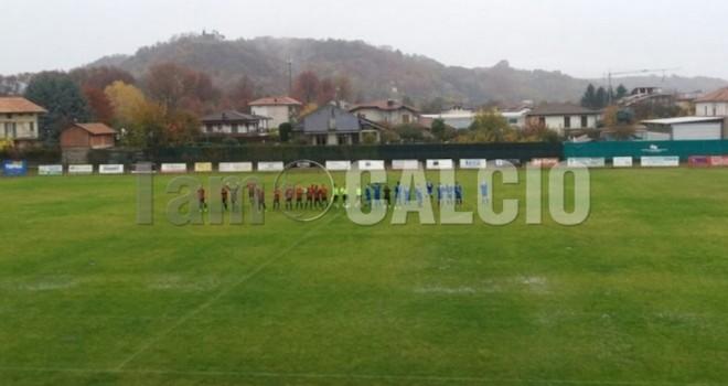Briga-Omegna sospesa: 0-0 dopo i primi 45'