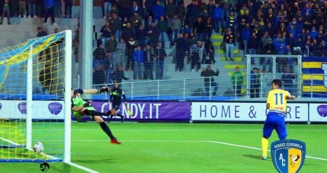 """Stoico San Severo al """"Monterisi"""": Cerignola fermato sul 2-2"""