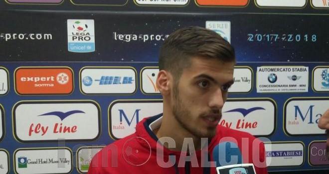 """Catania, Bogdan: """"Con la Juve Stabia vittoria del gruppo"""""""