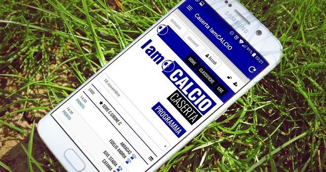 Disponibile da oggi la nuova app di IamCALCIO Caserta