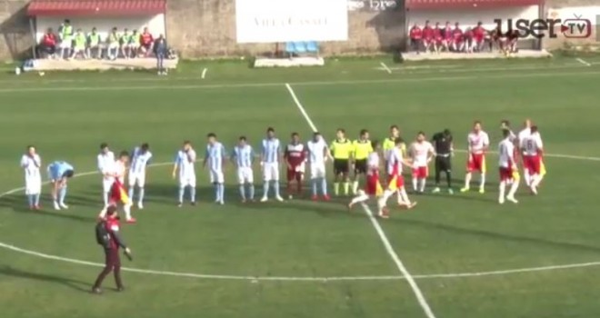 L'Audax Cervinara supera il Positano: la sintesi del match (VIDEO)