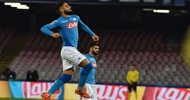 Lo Shakhtar regge un tempo, nella ripresa un super Napoli cala il tris
