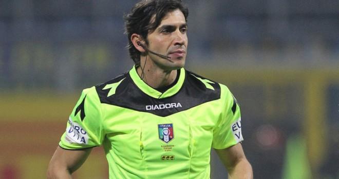 L'arbitro Gianpaolo Calvarese