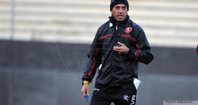 Salernitana, dopo l'allenamento si va in ritiro a Serino