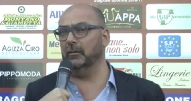 """C.Frattese, Baldi: """"Mondragone? Voltiamo pagina, testa al Savoia"""""""