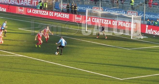 Novara-Bari 1-2, azzurri ancora sconfitti tra le mura amiche