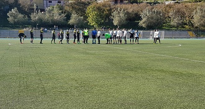 Il Giffoni Sei Casali batte la Sporting Audax nell'andata dei 16esimi