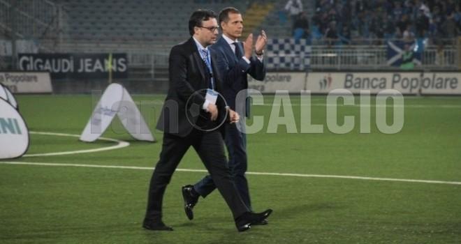 """Novara-Pro Vercelli 0-1, De Salvo: """"Ora non dobbiamo abbatterci"""""""