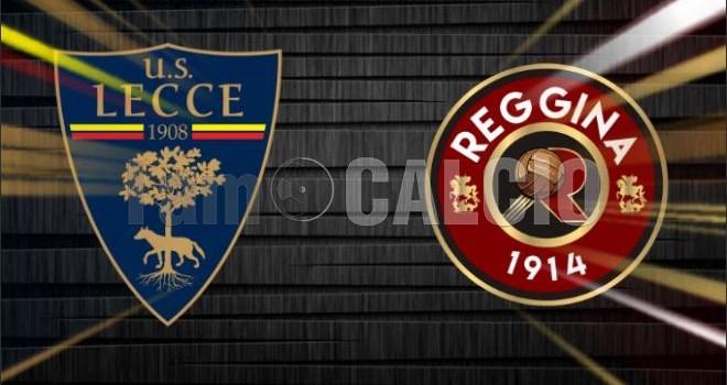 Lecce-Reggina: le probabili formazioni