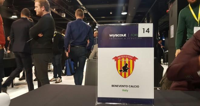 Benevento. La società giallorossa presente al Wyscout Forum di Londra