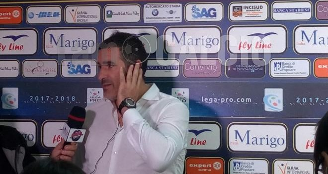 "Catania, Lucarelli: ""Vittoria preziosa, la Juve Stabia merita di più"""
