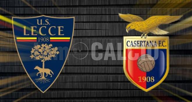 Lecce-Casertana: le probabili formazioni