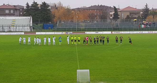 Santarcangelo-Feralpisalò 1-2: Marchi firma i tre punti gardesani