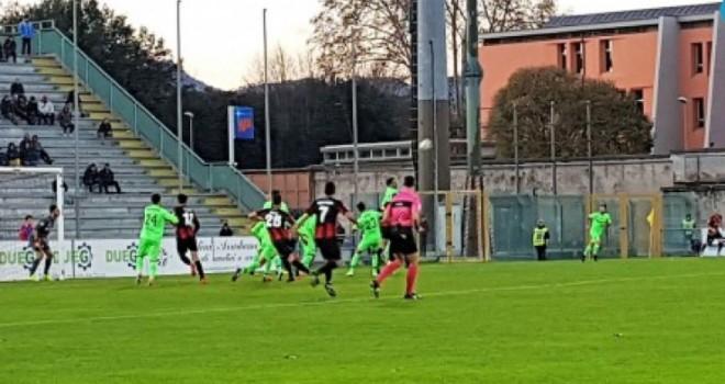Lucchese-Giana Erminio 0-3, il tabellino