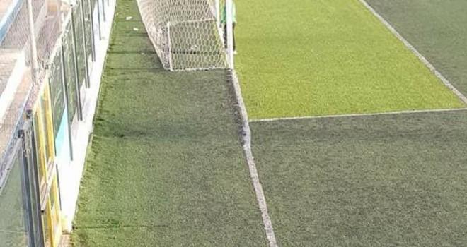 Manfredonia-Gravina non si gioca. Linee non regolamentari
