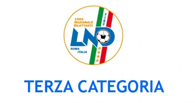 I gironi di Terza categoria 2018-19