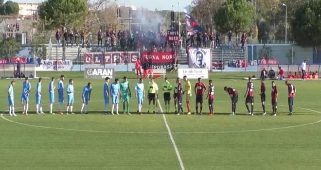 Un tempo a testa: Pineto-Campobasso finisce 1-1