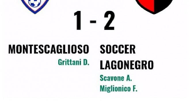 Gli highlights di Montescaglioso-Soccer Lagonegro 1-2