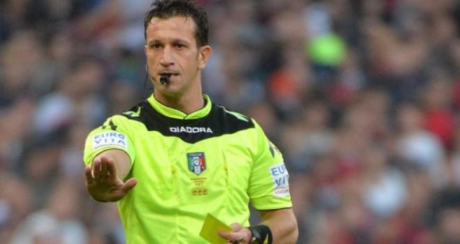 L'arbitro Daniele Doveri