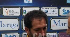 """Juve Stabia, Caserta: """"Bella prestazione. Penalizzati nuovamente da.."""""""