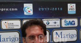 Juve Stabia-Catania, mister Caserta a 360°: tanti i temi alla vigilia