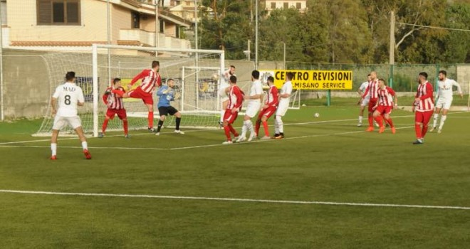 Pol.Santa Maria e Real Palomonte impattano sullo 0-0