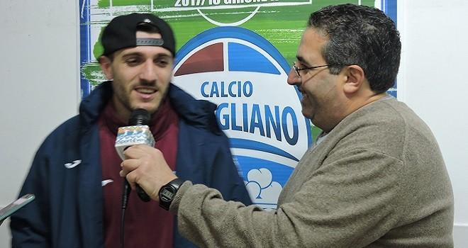"""Pomigliano, Pisani: """"Molfetta? Dedico i gol al gruppo ed alla società"""""""
