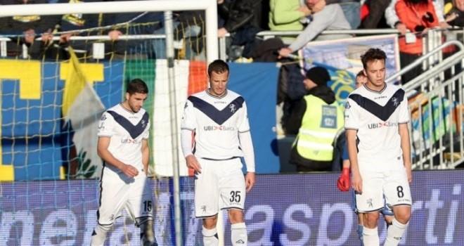 Il Brescia cade nella casa del Frosinone per 2-0