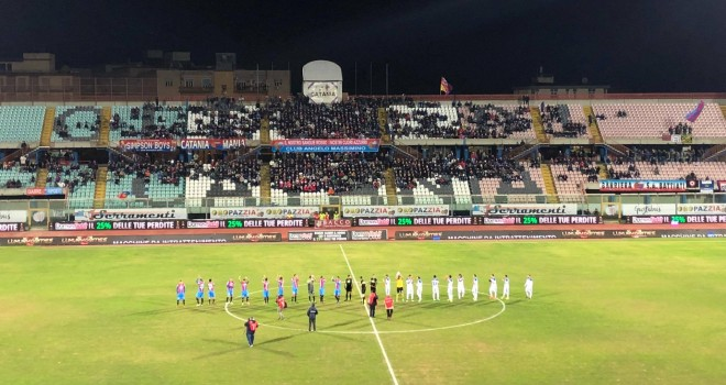 Catania-Matera 1-1, vince l'equilibrio, Curiale risponde a Sartore