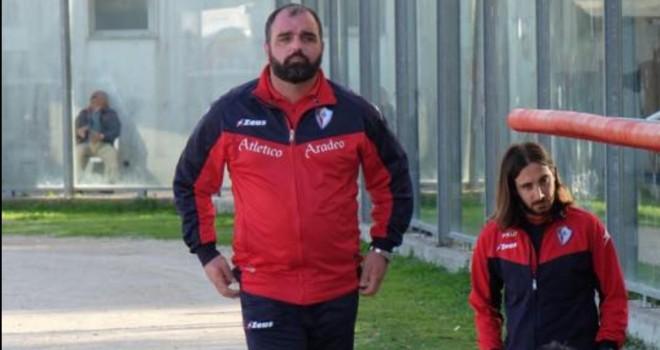 Atletico Aradeo: esonerato mister Politi