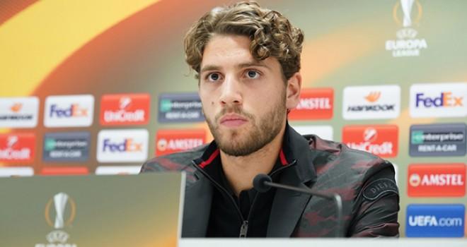 Manuel Locatelli in conferenza stampa