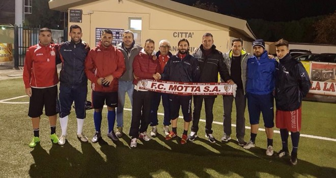 FC Motta: sei nuovi acquisti per mister Rugeri