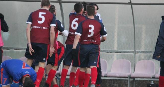 Erbusco-Ospitaletto 1-0: Mossini ridà la vittoria agli erbuschesi