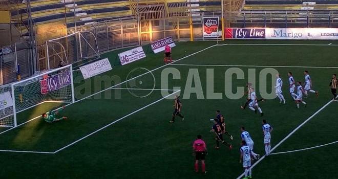 Juve Stabia, tre gol sotto l'albero: netta vittoria contro l'Andria