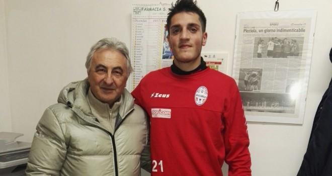 Picciola: ingaggiato De Matteis, difensore ex Catania e Campobasso