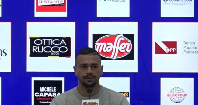 """Lecce. Lepore: """"Con la Sicula serve la partita perfetta"""""""