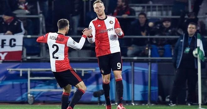 Il Napoli cade anche in Olanda: 2-1 Feyenoord, addio alla Champions
